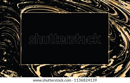 vector black gold design template party stock vector royalty free