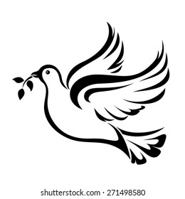 dove vector images stock photos vectors shutterstock rh shutterstock com dove vector logo dove vector png