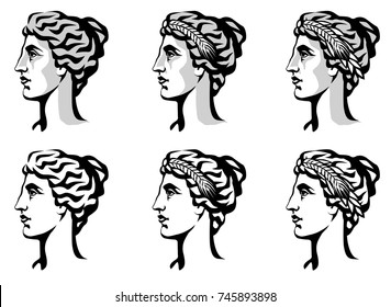 Goddess Logo Images, Stock Photos & Vectors | Shutterstock