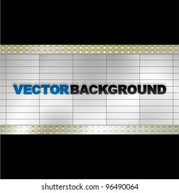 Vector Blank Billboard