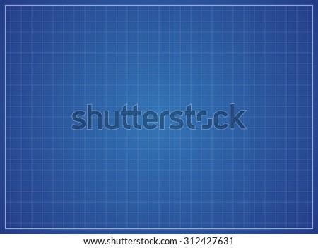 vector blank blueprint paper drafting drawing stock vector royalty
