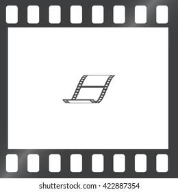 vector blank film strip icon stock vector 429839017 shutterstock rh shutterstock com film strip vector png film strip vector graphic free