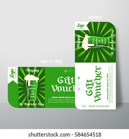 vector blank gift voucher increase sales stock vector royalty free