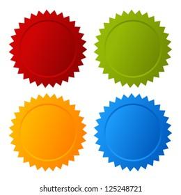 Vector blank seals set