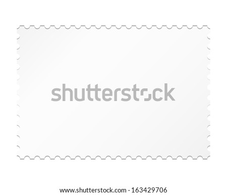 vector blank stamp template stock vector royalty free 163429706