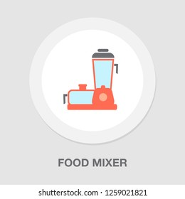 vector blender - food mixer