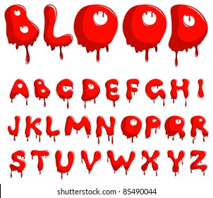 Similar Images, Stock Photos & Vectors of Halloween bloody