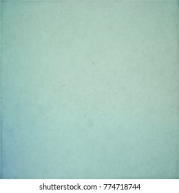 Vector blue green texture background, light paper backdrop, abstract grunge pattern in pale teal trendy colors