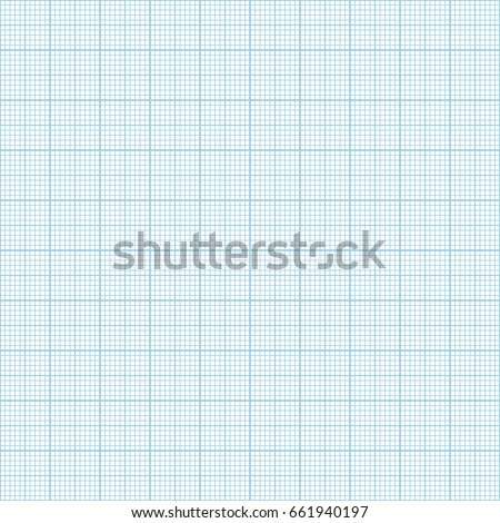 vector blue metric graph paper seamless stock vector royalty free
