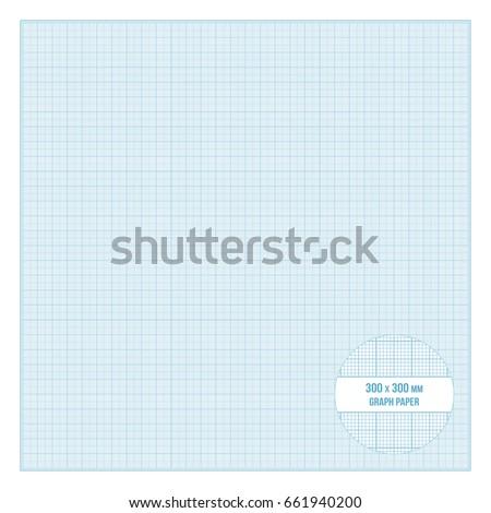 vector blue printable metric graph paper stock vector royalty free