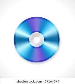 Vector blue ray disc