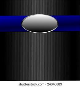 Vector Blue Ribbon Silver Medal