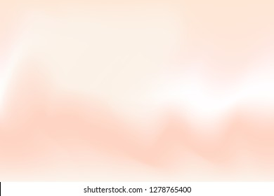 vector, blurred red brown water color soft wave colorful effect for background abstract, illustration gradient pastel colors art swirl color brown white concept, art colorful watercolor pastel style