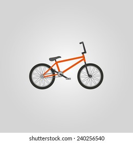 Vector BMX bicycle.