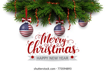 Patriotic Christmas.Patriotic Christmas Images Stock Photos Vectors