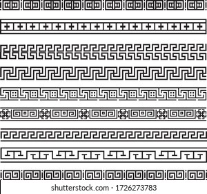 Vector border lines for invitations or banners