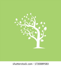 Vector branch , Hand drawn illustration of tree branch design template