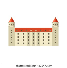 Vector Bratislava Castle