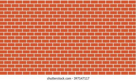 Vector brick wall 1