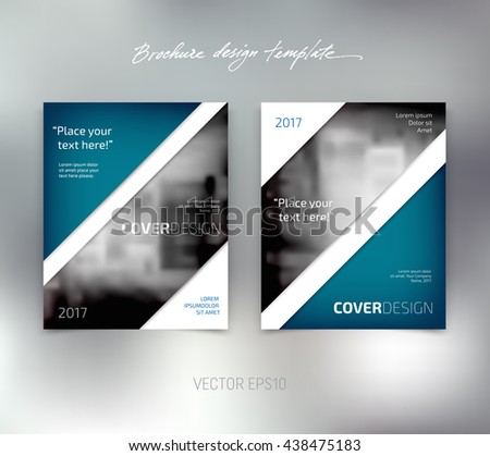 vector brochure or booklet design template business concept flyer idea