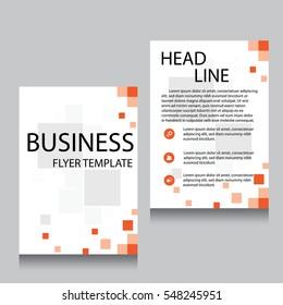 vector brochure flyer design layout template stock vector royalty