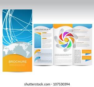 Vector Brochure, illustration