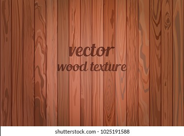 Vector brown wood texture. Repeated border.
