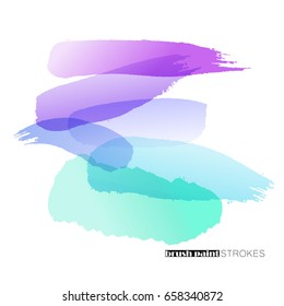 vector brush hand drawn strokes as design elements