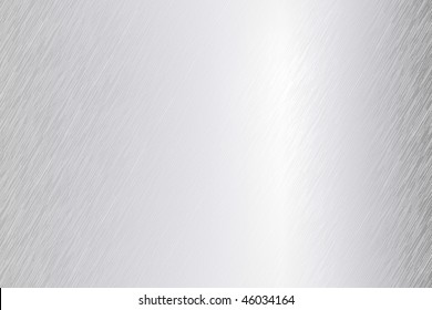 Vector brushed metal texture. File contains editable  seamless