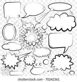 Vector Bubbles Set