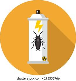 Vector Bug Spray.