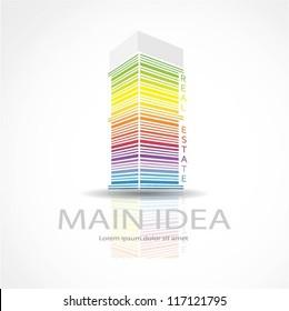 Vector building design