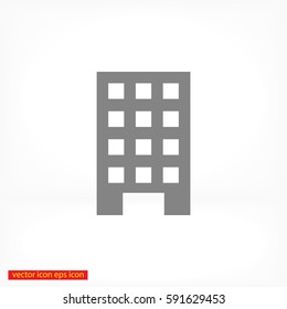 Vector building Icon