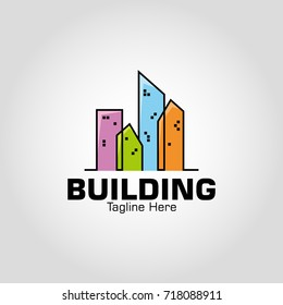 Vector Buildings 4. Eps 10