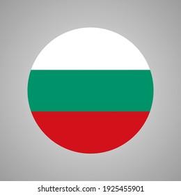 Vector Of Bulgaria Flag, Flag Of Bulgaria