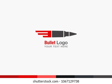 vector bullet logo