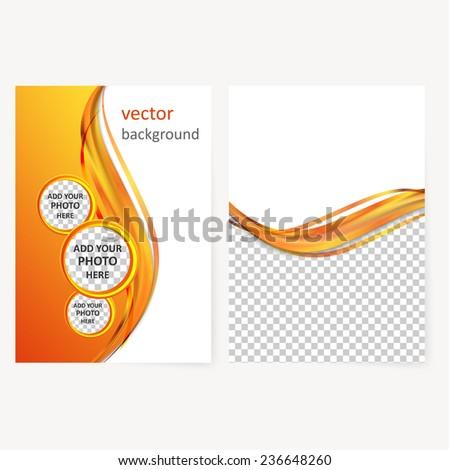 vector business brochure flyer template blank stock vector royalty