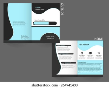 Vector Business Brochure template for multiple uses.