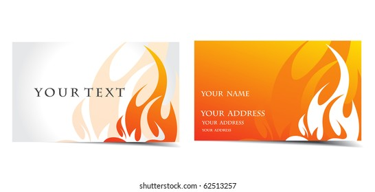 vector business card set, vector design.
