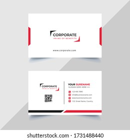 Vector Business cards and Modern Creative and Clean template. simple minimal Business Card layout design.