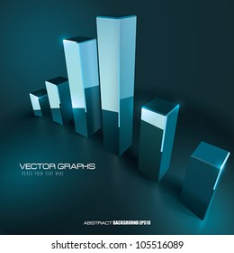Vector Business Graph background