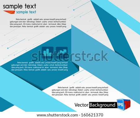 vector business marketing brochure stock vector royalty free