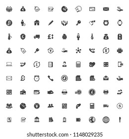 vector Business, office icons set, finance and money icons, Business finance symbol
