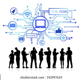 Vector of Business Technology