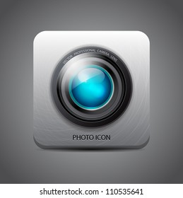 Vector camera application icon