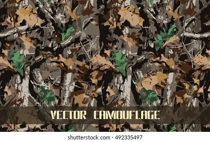 vector camouflage pattern background