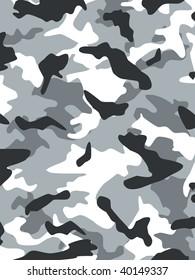 Vector camouflage series in Grey Alpine scheme.