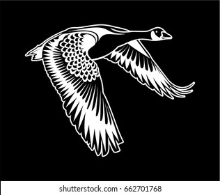 Vector - Canadian Goose