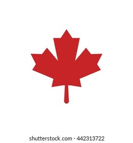 Vector Canadian Maple Leaf Icon