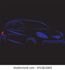 vector car design for your company